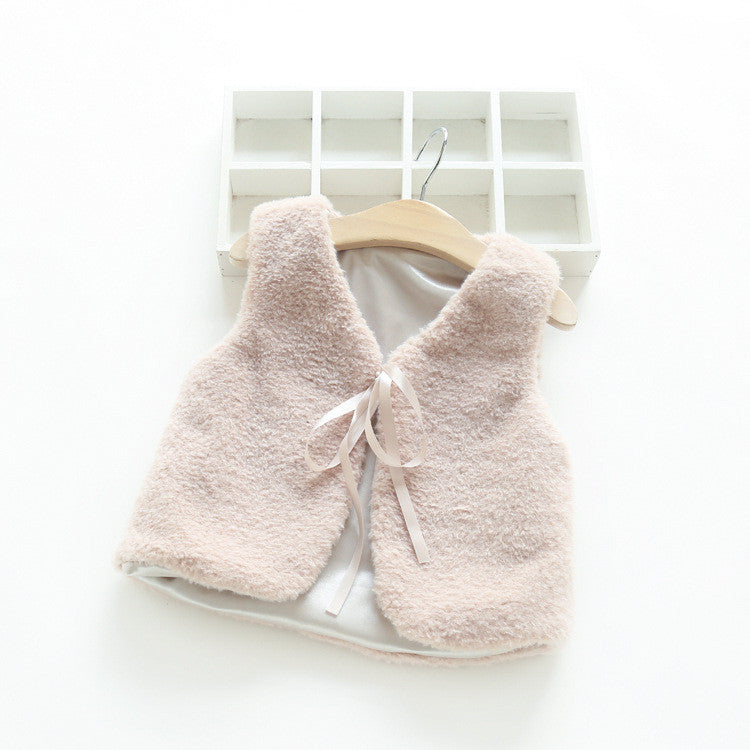 Warm Fur Soft Jacket [Light Coffee] | meemu.com | Kids fashion, accessories