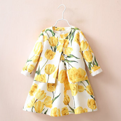 Yellow Tulips | meemu.com | Kids fashion, accessories