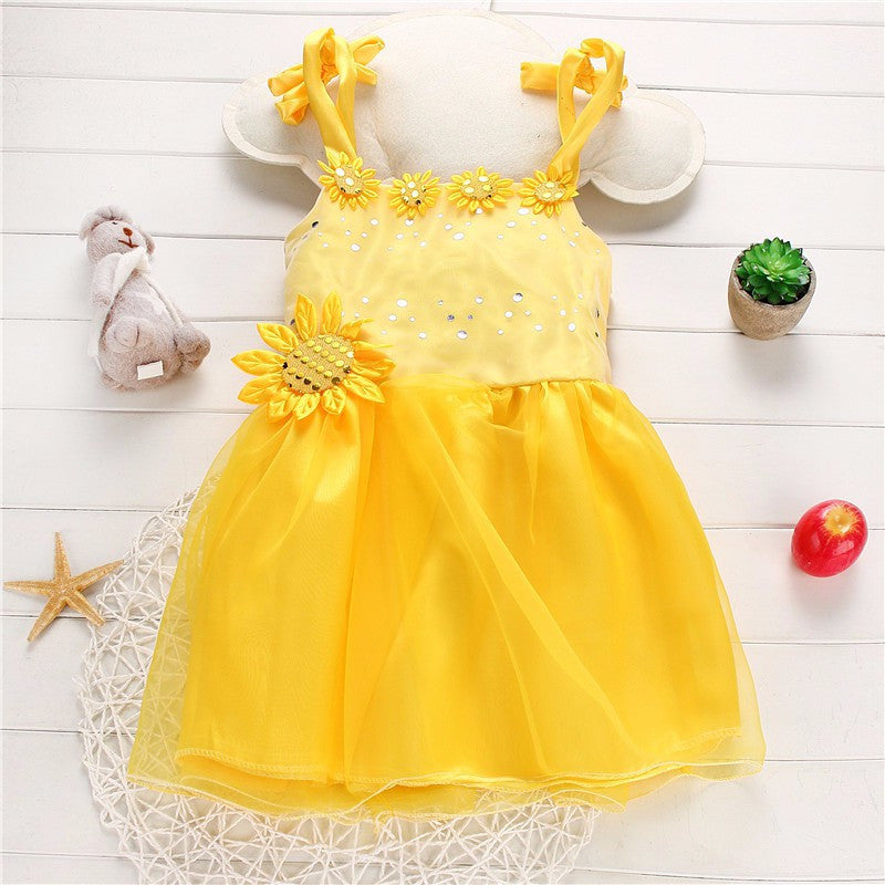 Sunny Day Frills Frock | meemu.com | Kids fashion, accessories