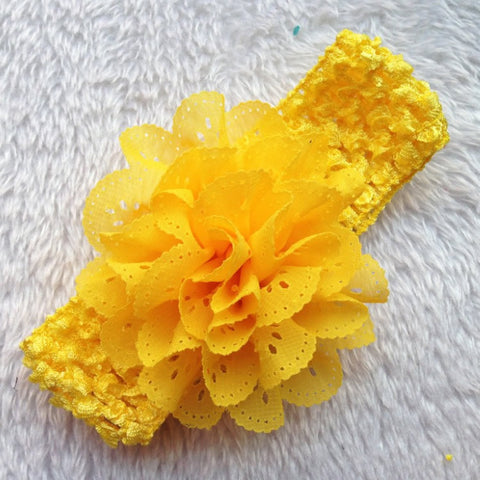 Colorful Lace Flower Headband | meemu.com | Kids fashion, accessories