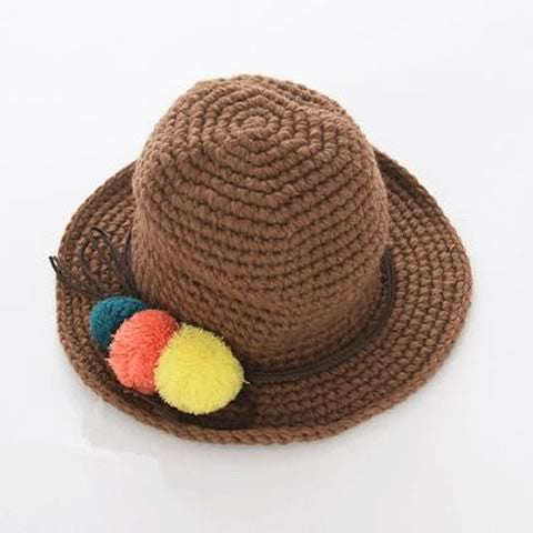 Winter Cute Brown Hat | meemu.com | Kids fashion, accessories