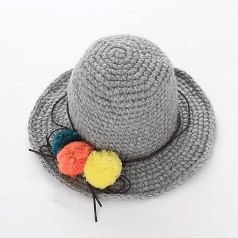 Winter Cute Grey Hat | meemu.com | Kids fashion, accessories
