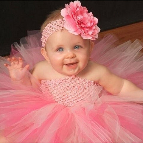 Toddler's Tutu Dress (with Double Layer) - meemu