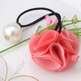 Chiffon Flower Girls Hair band (Watermelon)
