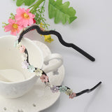 Zig Zag Flower Hairband