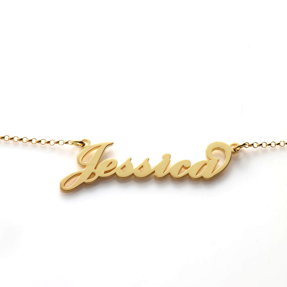 Personalized Name Bracelet in Sterling Silver