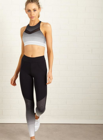 *LUXE PANEL 3/4 [Sports Bra + Pants] Set #3