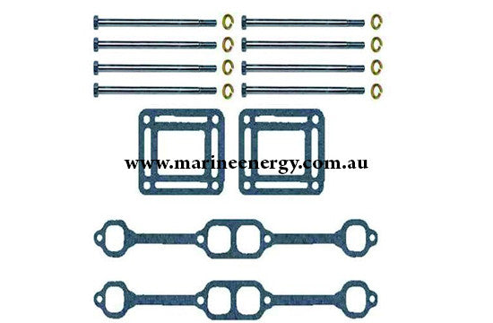 Volvo Penta Exhaust Manifold Gasket / Hardware Set 53911 Replacement
