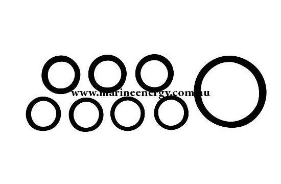 Volvo Penta Water Strainer Gasket Set 22037 Replacement