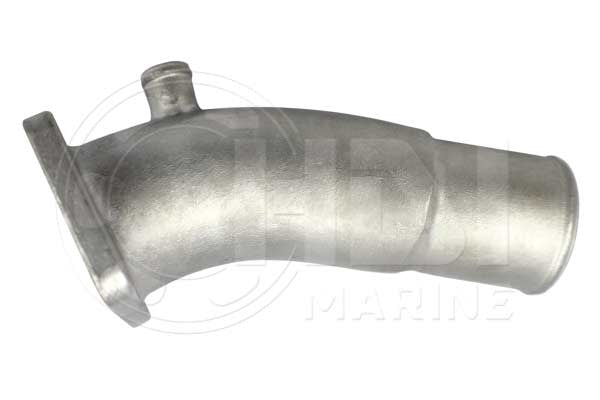 Yanmar 128890-13530/ 128370-12530/128397-13530 SS Exhaust Elbow Replacement HDI GMS (17mm water inlet)
