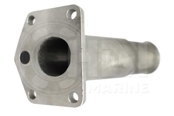 Yanmar 3GMD 128370-13550 Stainless Steel Exhaust Mixing Elbow Replacement