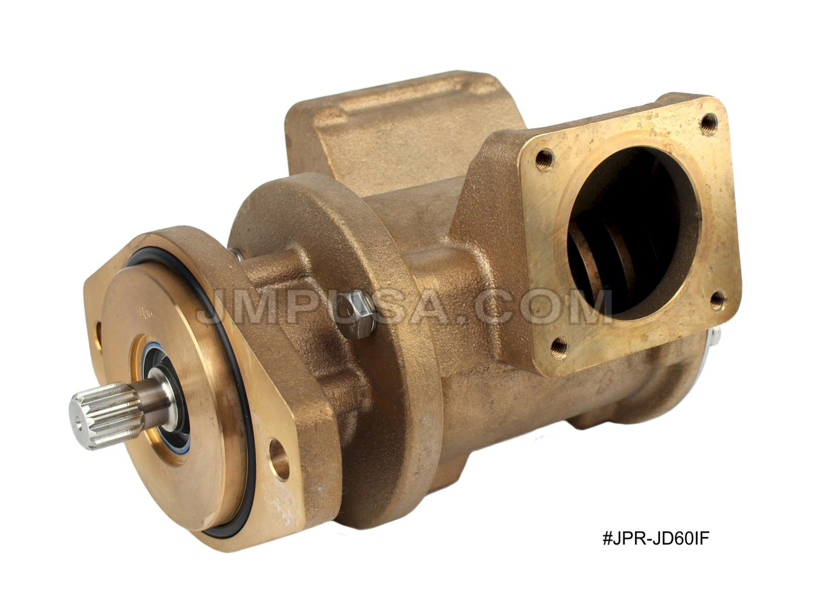 John Deere Seawater Pump RE530872 Sherwood G1816X Replacement JPR-JD60IF