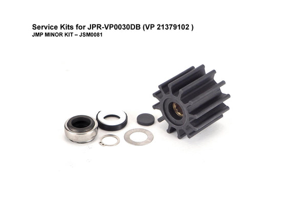 Service Kit for Volvo Penta D3 Engine Seawater Pump