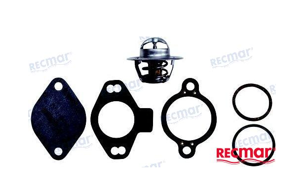 Mercruiser Thermostat Kit 807252Q4 (140 Degrees) Replacement