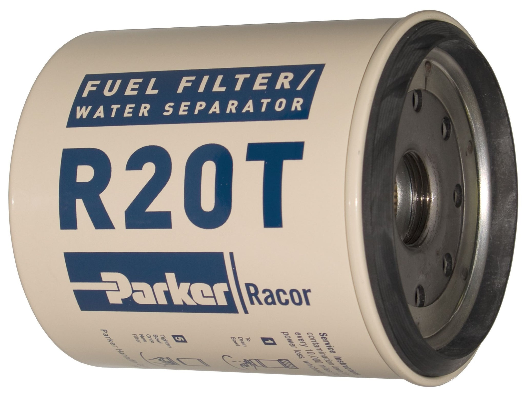 Racor R20T Diesel Spin-on FF/WS 10 Micron