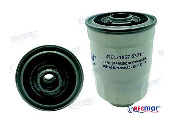 Yanmar 4LH, 4LHA Fuel Filter 121857-55710; Nanni 970310746 Replacement