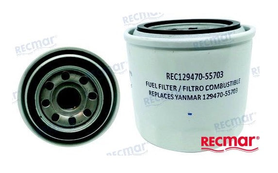 Yanmar 3JH 4JH Fuel Filter 129470-55703 Replacement