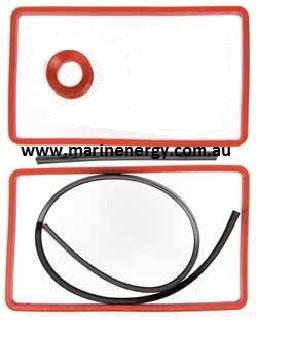 Volvo Penta 877386 Aftercooler Gasket Set Replacement-41/31/43 - REC 22182