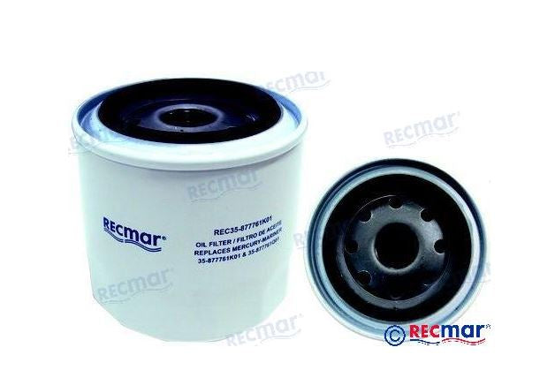 Mercury Oil Filter 35- 877761Q01 (Aftermarket)