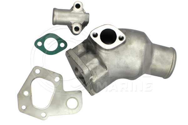 Volvo Penta 861574 Stainless Steel Mixing Elbow Kit Replacement-HDI V55 C-F