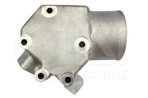 Volvo Penta 3584413 Stainless Steel Exhaust Riser Kit Replacement- HDI-V75
