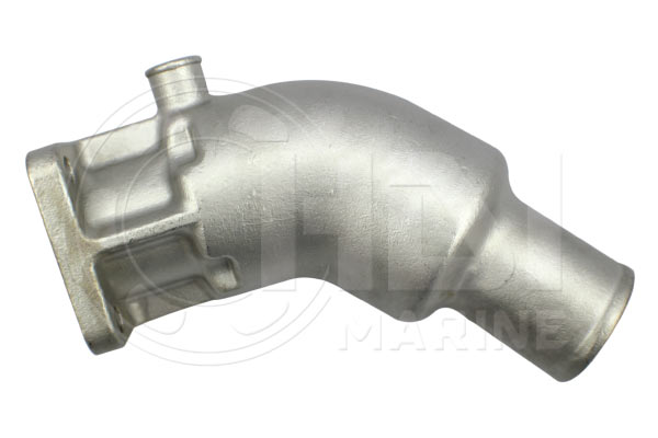 "Volvo Penta D1, D2-40, MD2010, 2020, 2030 7/8"" (V878) Stainless Ssteel Mixing Elbow 861906 Replacement"