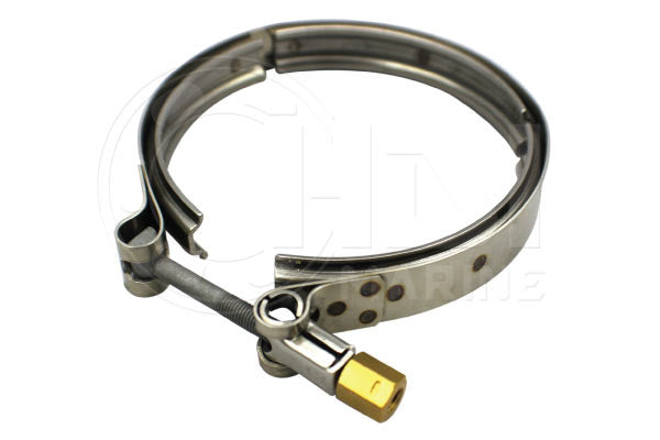 Yanmar 119773-13300 and Volvo Penta 842993 , 21325765 SS Exhaust Clamp Replacement HDI VBC