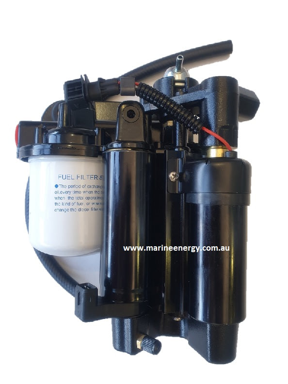 Volvo Penta 8.1 Fuel Pump 21608512 Replacement