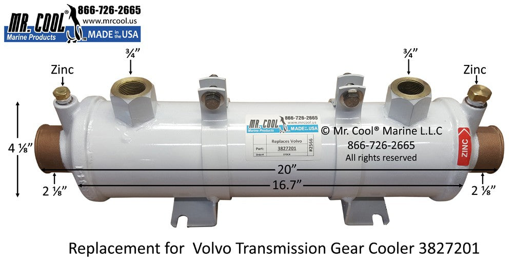 Volvo Penta Parts - Heat exchangers & Coolers - Marine Energy Systems