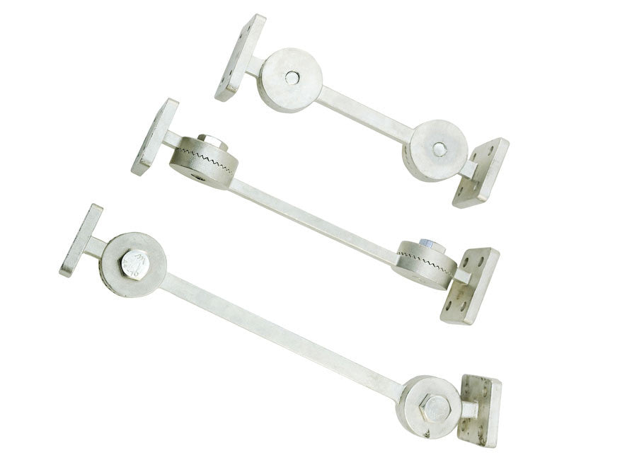 Seawater Strainer Bracket 316 Stainless (Adjustable Arms)