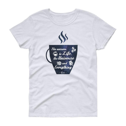 Coffee Is The Answer | Women's Short Sleeve T-Shirt