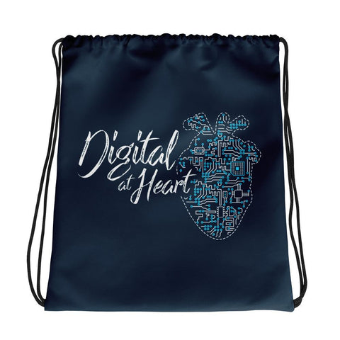 Digital At Heart | Drawstring Bag