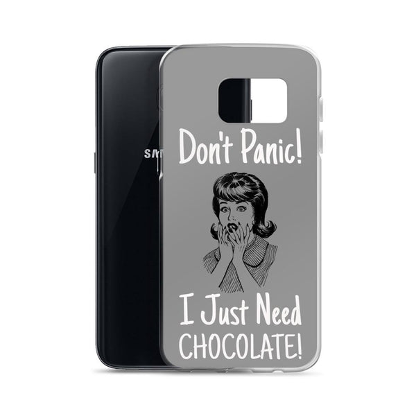 Don't Panic | Pop Art Series | Samsung Case -  - Kempo24 giftidea you can buy in our online shop. We sell unisex man tshirts, women tee, teapots, trendy women tops and other homegoods, accessoires and fashion that is unique, funky, beautiful, unusual, cool or however you want to call it. Find the perfect gift for him or her or yourself.