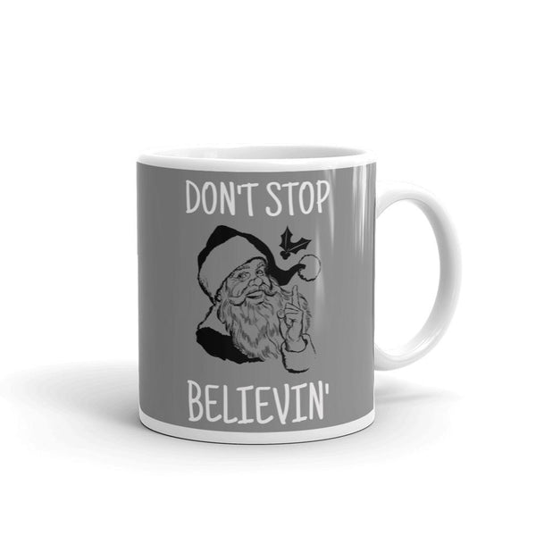 Don't Stop Believin' | Pop Art Series | Mug -  - Kempo24 giftidea you can buy in our online shop. We sell unisex man tshirts, women tee, teapots, trendy women tops and other homegoods, accessoires and fashion that is unique, funky, beautiful, unusual, cool or however you want to call it. Find the perfect gift for him or her or yourself.