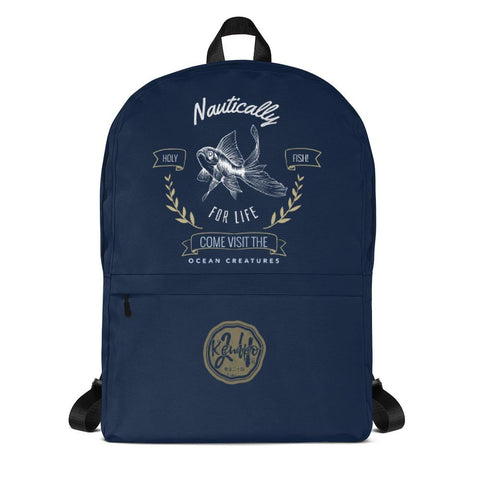 Holy Fish | Nautically Series | Backpack