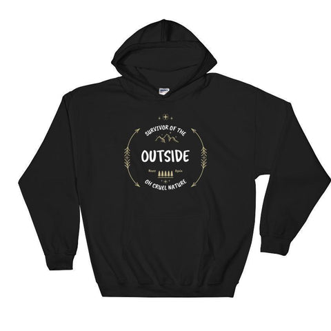 I Survived The Outside | Hooded Sweatshirt