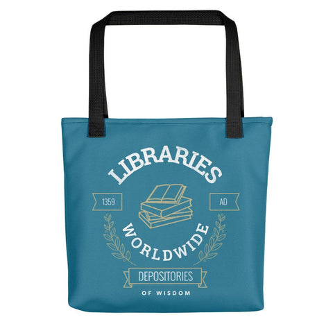 Libraries Worldwide | Tote Bag