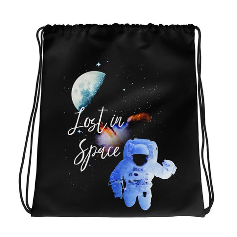 Lost In Space | Drawstring Bag