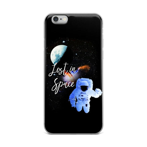 Lost in Space | iPhone Case -  - Kempo24 giftidea you can buy in our online shop. We sell unisex man tshirts, women tee, teapots, trendy women tops and other homegoods, accessoires and fashion that is unique, funky, beautiful, unusual, cool or however you want to call it. Find the perfect gift for him or her or yourself.