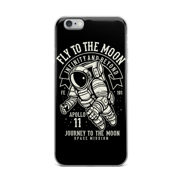 Fly to the Moon | iPhone Case