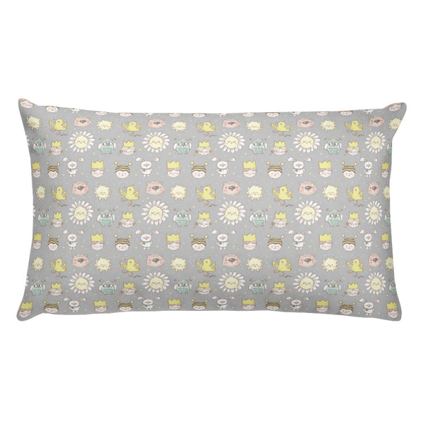 Ducks, Flowers and Owls | Bambini | Pillow