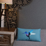 Be Unique | Rectangle Pillow -  - Kempo24 giftidea you can buy in our online shop. We sell unisex man tshirts, women tee, teapots, trendy women tops and other homegoods, accessoires and fashion that is unique, funky, beautiful, unusual, cool or however you want to call it. Find the perfect gift for him or her or yourself.