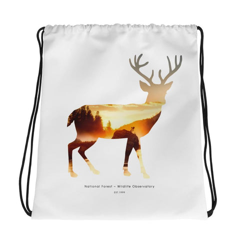 National Autumn Forest | Drawstring Bag