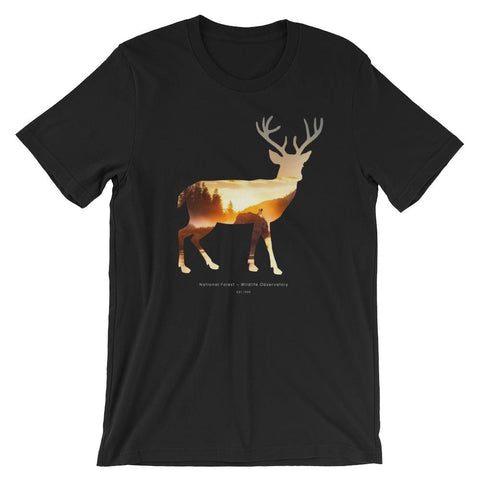 National Autumn Forest | Short Sleeve Unisex T-Shirt