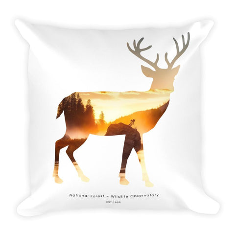 National Autumn Forest | Square Pillow