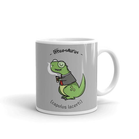 Officesaurus | Mug -  - Kempo24 giftidea you can buy in our online shop. We sell unisex man tshirts, women tee, teapots, trendy women tops and other homegoods, accessoires and fashion that is unique, funky, beautiful, unusual, cool or however you want to call it. Find the perfect gift for him or her or yourself.