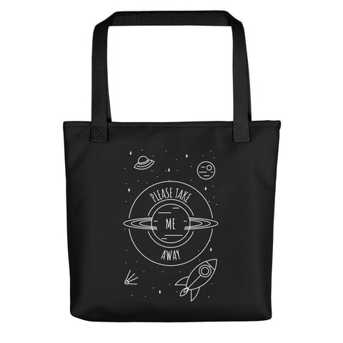 Please Take Me Away | Cosmos Series | Tote Bag