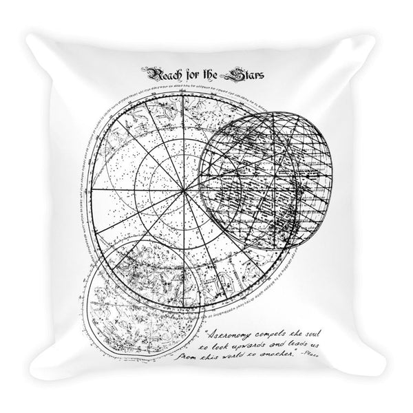 Reach For The Stars | Square Pillow