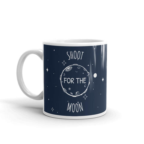 Shoot For The Moon | Cosmos Series | Mug