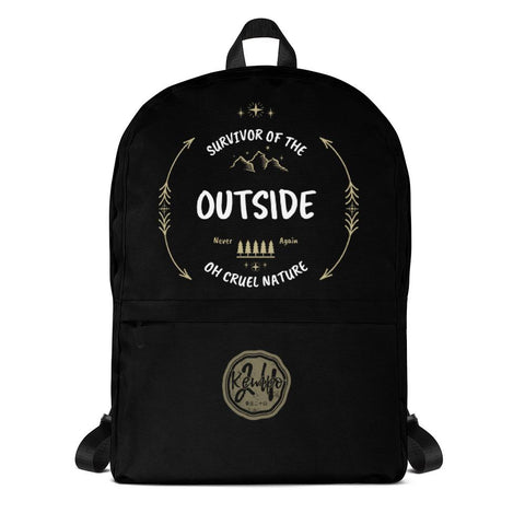 Survivor Of The Outside | Backpack